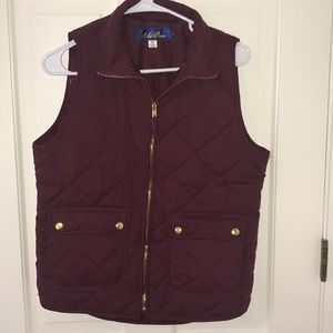 Jackets & Blazers - Maroon and Gold Vest